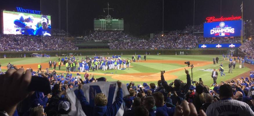 Wrigleyville Nation NL Champs Sp Ep – Guest: John Arguello & Pats Dad, Cubs are in the World Series, & Schwarber in AFL